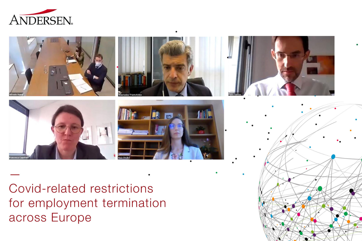 EMPLOYMENT WEBINAR | Covid-related restrictions for employment termination across Europe